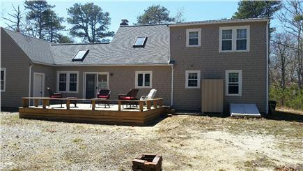 Eastham Cape Cod vacation rental - Spacious outdoor deck and space for kan jam and corn hole!