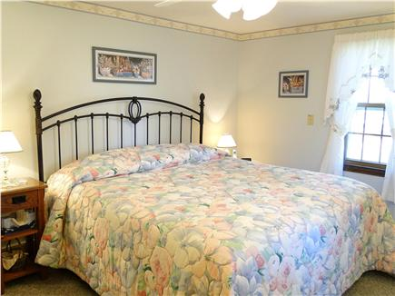 Dennisport Cape Cod vacation rental - Master bedroom with King bed