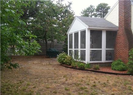 Dennis Port Cape Cod vacation rental - Screened in porch