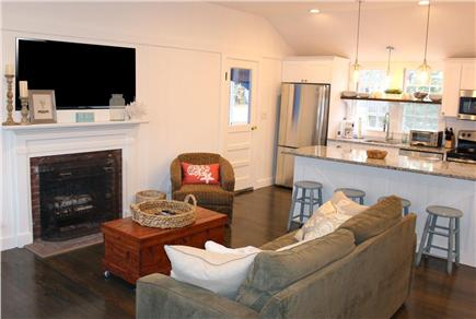 Dennis Port Cape Cod vacation rental - View when you enter through the front door