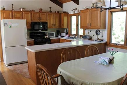 Brewster Cape Cod vacation rental - The kitchen is open to the living room and dining areas