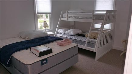 Harwichport Cape Cod vacation rental - Bedroom with queen, double and twin beds