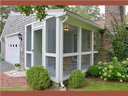 Brewster Cape Cod vacation rental - Screened front porch