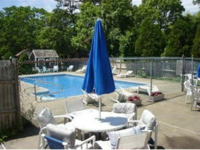 Dennis Port Cape Cod vacation rental - Renovated Saltwater Pool with outdoor shower access