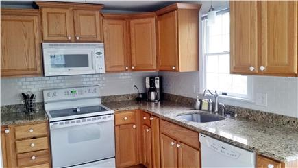 South Orleans Cape Cod vacation rental - Well appointed kitchen with granite counters