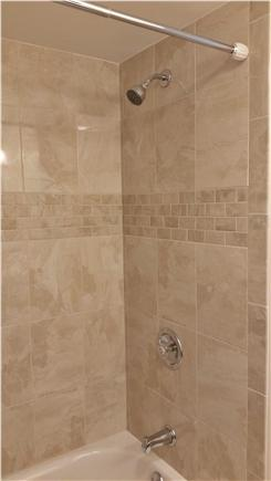 South Orleans Cape Cod vacation rental - Tub with full tile surround
