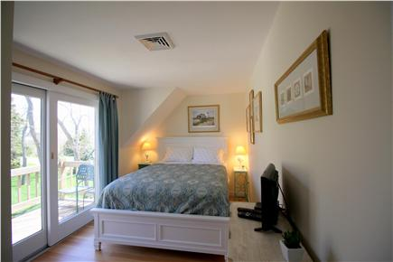 Chatham Cape Cod vacation rental - Bedroom #2 - Overlook Room - Queen with private deck and balcony