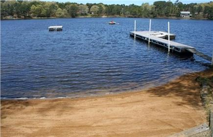Eastham Cape Cod vacation rental - A Few Steps To Our Freshwater Pond for Boating and Swimming