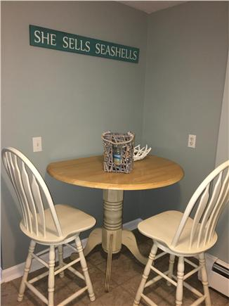 Centerville Centerville vacation rental - Kitchen Table