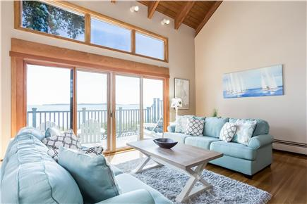 Duxbury MA vacation rental - Oceanfront Living Room