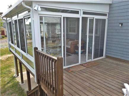 West Yarmouth Cape Cod vacation rental - Deck and sunroom