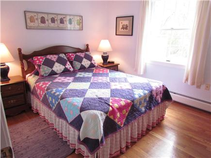 Brewster Cape Cod vacation rental - Back bedroom with queen size bed.