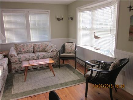 Orleans Cape Cod vacation rental - Living area with loveseat