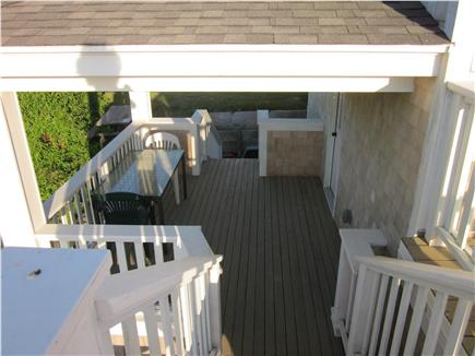 Orleans Cape Cod vacation rental - Relax and enjoy the views from the lower deck