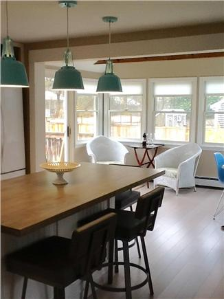 Brewster Cape Cod vacation rental - Counter height chairs for 3