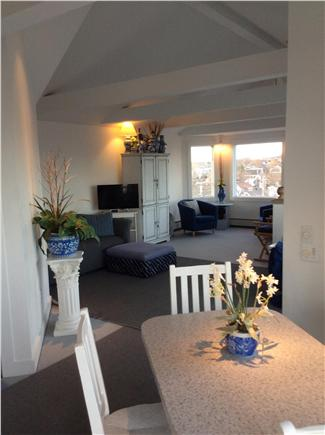 Provincetown Cape Cod vacation rental - Open living area