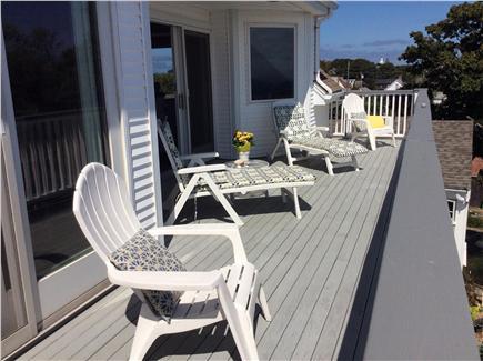 Provincetown Cape Cod vacation rental - Deck furniture seats four