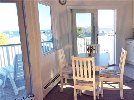 Provincetown Cape Cod vacation rental - Dining area with water views