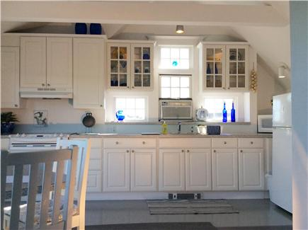 Provincetown Cape Cod vacation rental - Kitchen with ample utensils, glassware, etc.  No Dishwasher.