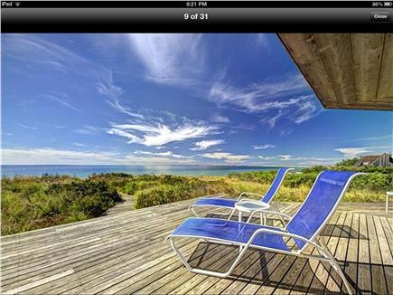 Truro Cape Cod vacation rental - Relax on the deck of this waterfront home on Cape Cod Bay