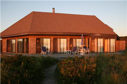 Truro Cape Cod vacation rental - Exquisite sunsets from this bayfront Truro home
