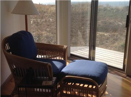 Truro Cape Cod vacation rental - Lovely alcove in living room for relaxing and reading