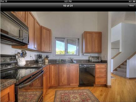 Truro Cape Cod vacation rental - Modern kitchen fully eqipped with all appliances and dishes, etc.