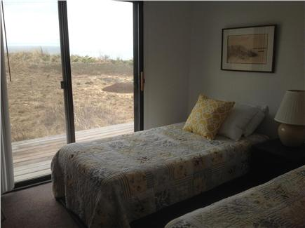 Truro Cape Cod vacation rental - First floor guest room with views and deck sleeps 2