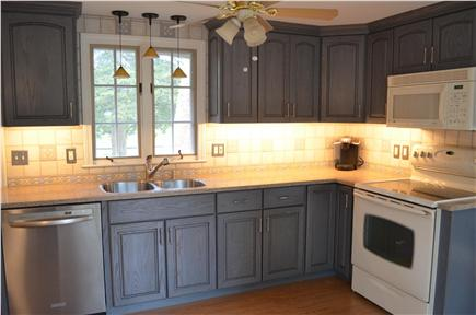 Dennis Cape Cod vacation rental - Updated kitchen with breakfast bar and full amenities
