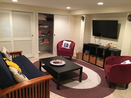 N FALMOUTH Cape Cod vacation rental - Media Room