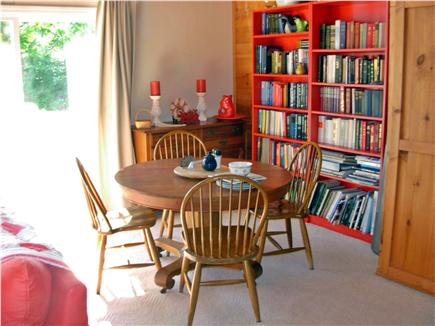 Harwich Port Cape Cod vacation rental - 1st Floor Dining Area