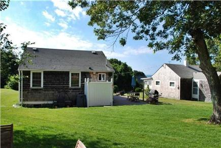 Sandwich Cape Cod vacation rental - Back of House, outdoor shower