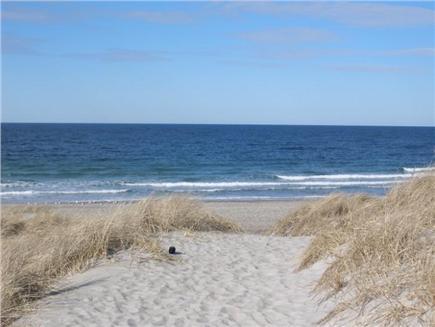 East Sandwich Cape Cod vacation rental - East Sandwich Beach is just across the street