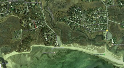 South Chatham Cape Cod vacation rental - Aerial view