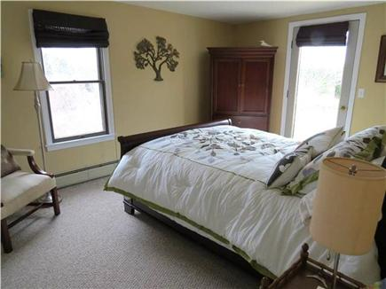 Eastham Cape Cod vacation rental - 2nd floor bedroom with Queen bed and small private balcony