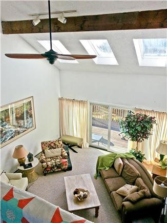 Eastham Cape Cod vacation rental - Revel in sunlight and space as you look down into the living room