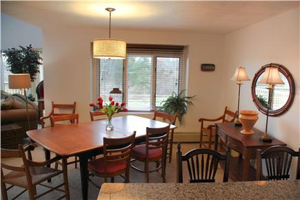 Eastham Cape Cod vacation rental - Watch birds and rabbits in the yard while you eat