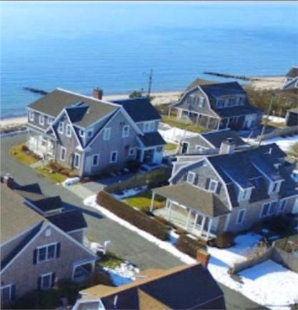 Harwich Port Cape Cod vacation rental - View of the home on the right, one house away from the beach