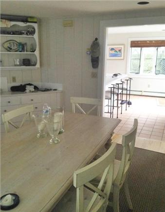 Harwich Port Cape Cod vacation rental - Dining room and view to kitchen