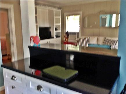 Cotuit Cotuit vacation rental - Kitchen view to living room