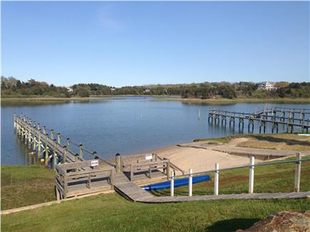 Eastham Cape Cod vacation rental - Our private beach on the Town Cove!