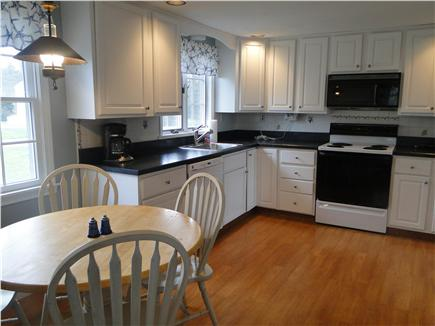 Eastham Cape Cod vacation rental - Eat in kitchen - main house