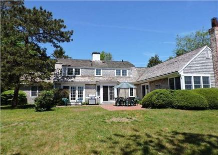 Falmouth Cape Cod vacation rental - Large private yard with patio and waterview