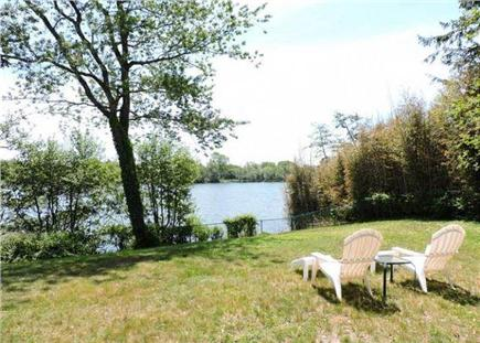 Falmouth Cape Cod vacation rental - Enjoy the breeze and waterview from back yard