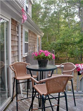 Orleans Cape Cod vacation rental - Bistro Table