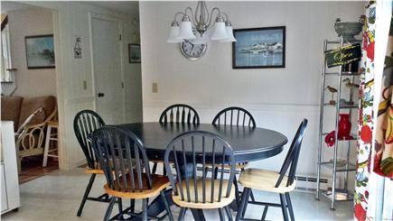 Orleans Cape Cod vacation rental - Kitchen Eating Area
