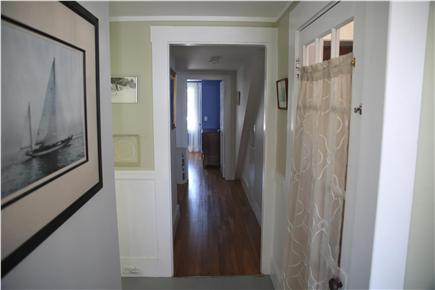 Provincetown, west end Cape Cod vacation rental - Looking down the hall to the bathroom and bedrooms