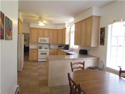 Brewster Cape Cod vacation rental - Large kitchen and eating area.