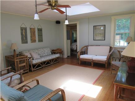 South Yarmouth Cape Cod vacation rental - Sun room seating