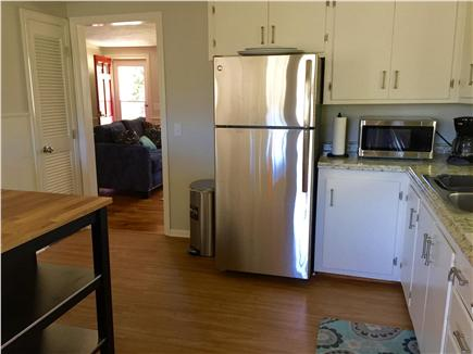 South Yarmouth Cape Cod vacation rental - Fully stocked kitchen with island & seating for 2.